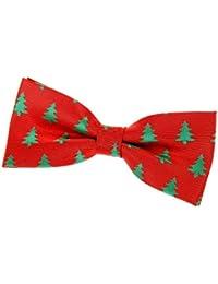 Retreez Árbol de Navidad Patrón Tejido PRE-TIED lazo (4.5), varios colores