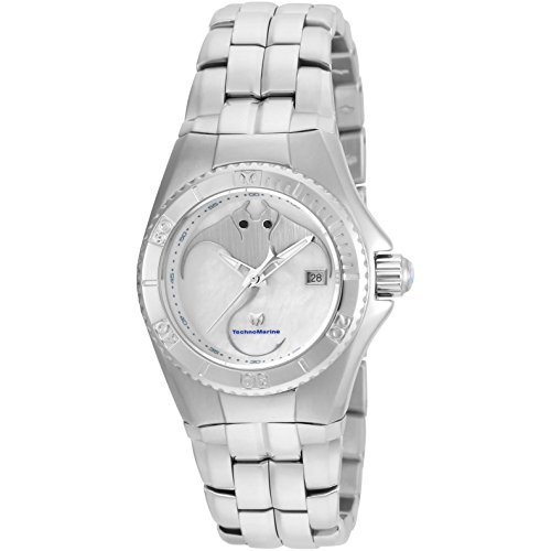 TECHNOMARINE WOMEN'S CRUISE DREAM 30MM STEEL BRACELET QUARTZ WATCH TM-115185