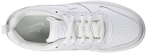 Nike Herren Court Borough Low Basketballschuhe Elfenbein (Whitewhitewhite 111)