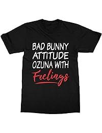 timeaxis Ozuna Bad Bunny T-Shirt (Men) Black