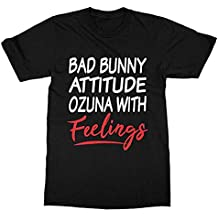 timeaxis Ozuna Bad Bunny T-Shirt (Men) Black c8493409b9b