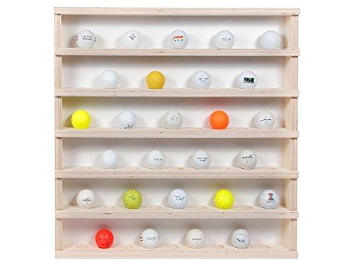 Golf-01: Vitrine murale en bois 52 x 52 x 6 cm collection...