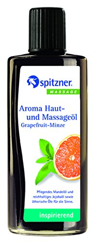 "Spitzner Haut- und Massageöl ""Grapefruit-Minze"" - 190 ml"
