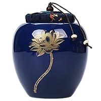 LUNA VOW Luna Vœu Japonais Céramique Boîte à Thé Traditionnel à Thé (A46)