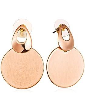 FANCYDELI Rosegold Damen Ohrringe Modeschmuck für Frauen Mädchen Party