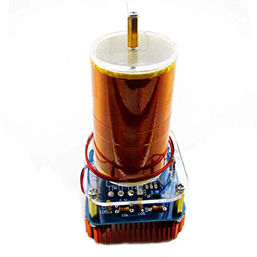 Ganquer Elektronisches Spielzeug Modell Montiert Musik Spule Set Wissenschaft Spiel Mini Lautsprecher Plasma - Wie abgebildet, Free Size