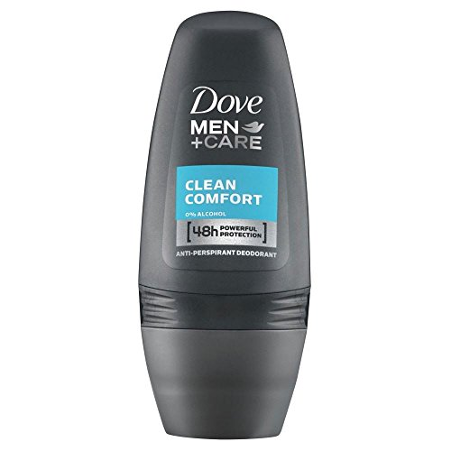 Dove Uomini + Cura Antitraspirante Deodorante - Il Comfort Pulito Roll-On (50ml)