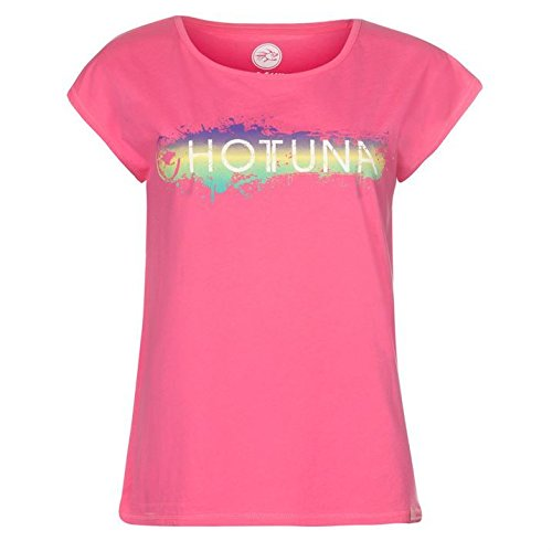 Hot Tuna - T-shirt - Manches Courtes - Femme Rose