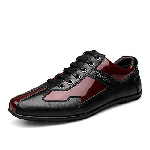 Chaussure en Cuir de Ville Homme Printemps Chaussure de Travail au Loisir Résistant à l'usure