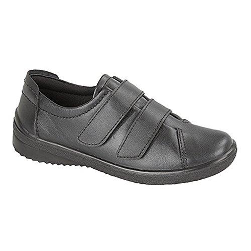 Mod Comfys - Chaussures scratch décontractées - Femme Noir