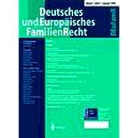 Deutsches und Europäisches Familienrecht [Jahresabo]