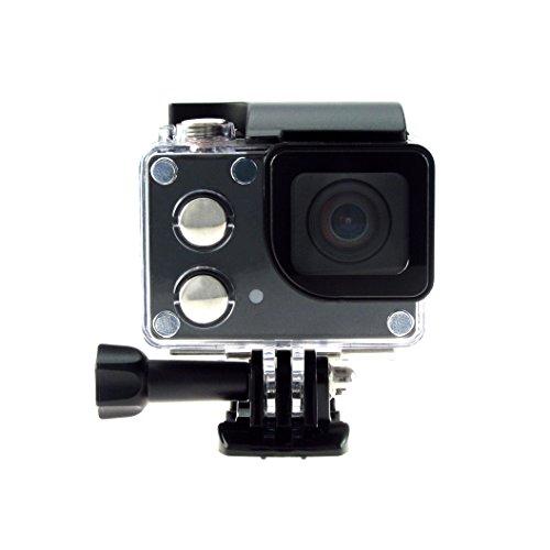 Isaw Edge Wi-fi 4k Action Camera (black)