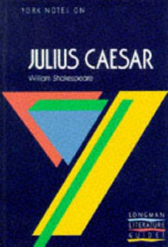 York Notes on Julius Caesar
