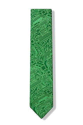 Preisvergleich Produktbild Sourcingmap Krawatte / Krawatte,  aus Mikrofaser,  Grün