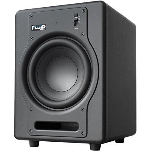 FLUID AUDIO F8S - SUBWOOFER  COLOR NEGRO