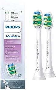Końcówka Philips Sonicare Intercare - 2-pack - Specjalizacja: przestrzenie międzyzębowe - Zapas na pół roku -