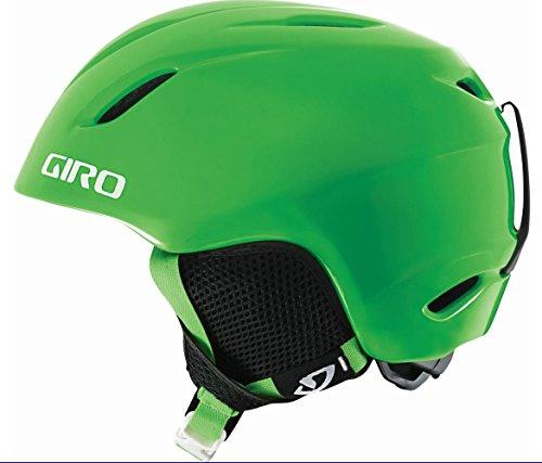 GIRO Kinder Skihelm Launch Bright Green, XS/S -