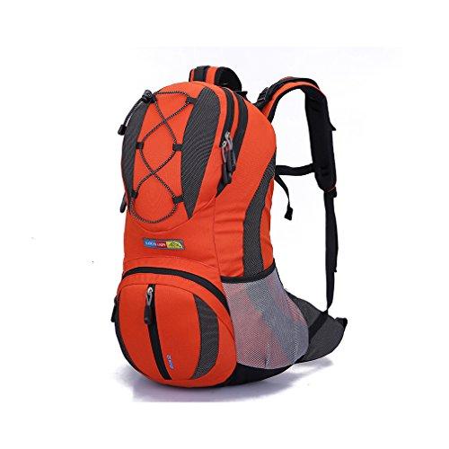 Kukome(TM) Multifunktion Fahrradrucksäcke Taschen Camping Outdoor Trekkingrucksäcke Wanderrucksäcke Große Kapazität 22L (rot)