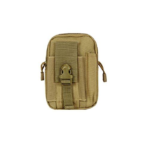 ouksome Tactical MOLLE EDC Tasche Kompakt Outdoor Mehrzweck-Utility Gadget Werkzeug Gürtel Taille Tasche Pack Nepalese