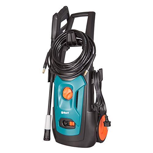 Hochdruckreiniger Bort BHR-1900-Pro, 150 bar, 7,5 L/min, 8m Schlauch, 1900 Watt, Quick Connect System zum schnellen Wechseln der Aufsätze