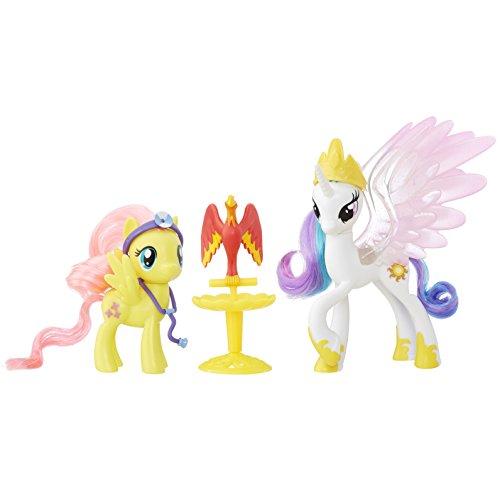 Hasbro B9849ES0 - My Little Pony Königliche Freunde Prinzessin Celestia Spielset