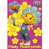 Fifi and the Flowertots - Birthday card with badge