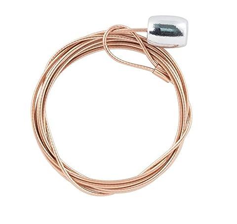 Kikkerland Copper Cable Photo Holder Set Of
