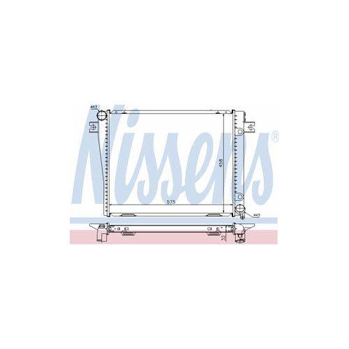 Preisvergleich Produktbild Nissens 60602A Kühler,  Motorkühlung