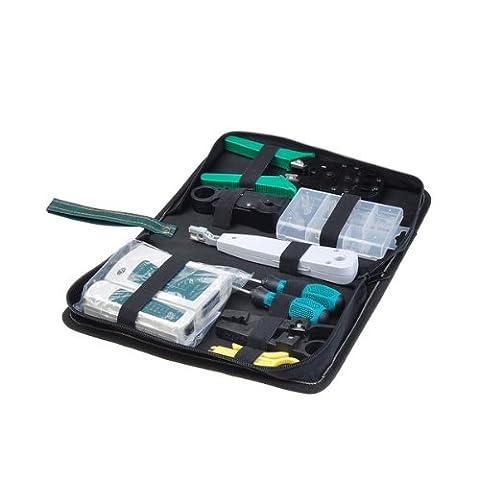 Neewer Kit d'outils réseau avec pince RJ45 RJ11 et testeur de câble CAT5