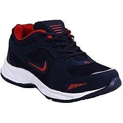 Rockfield Men's Blue Running Shoes (8)