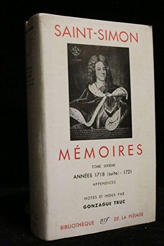 Mémoires tome 6