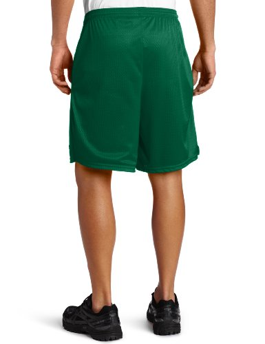 Champion Long Mesh Men's Shorts With Pockets Varsity Green