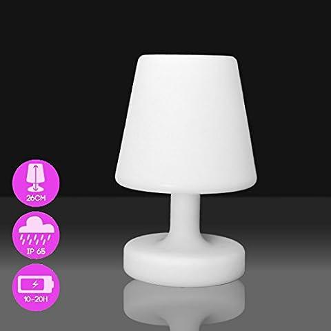 MERVY - Lampe de table LED 26cm - Lampe de