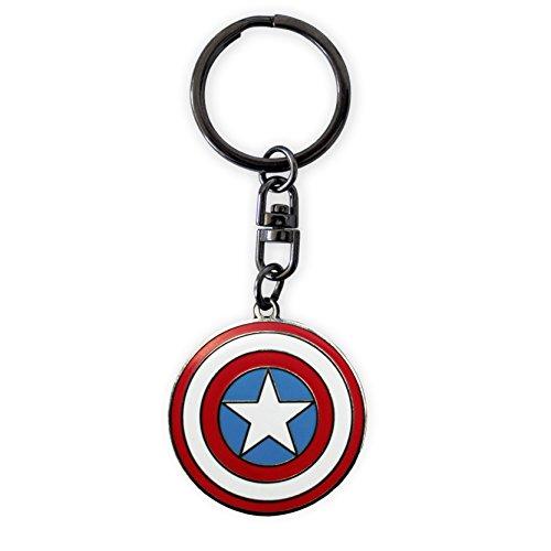 ABYstyle Marvel Llavero Capitán América,...