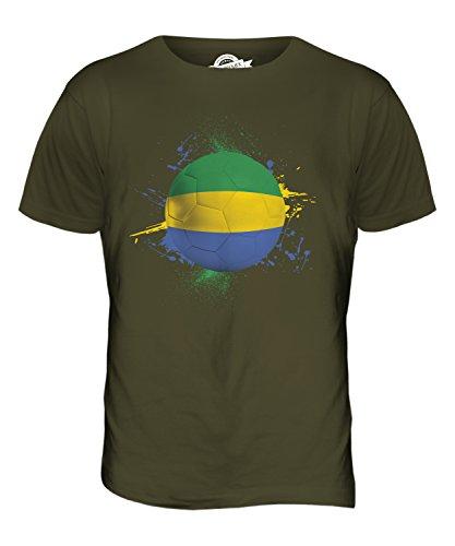 CandyMix Gabun Fußball Herren T Shirt Khaki Grün