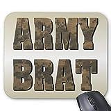 Mousepad Anti-Rutsch-Gummi Gaming Mauspad Rechteck Mauspad für Computer Laptop Army Brat in...