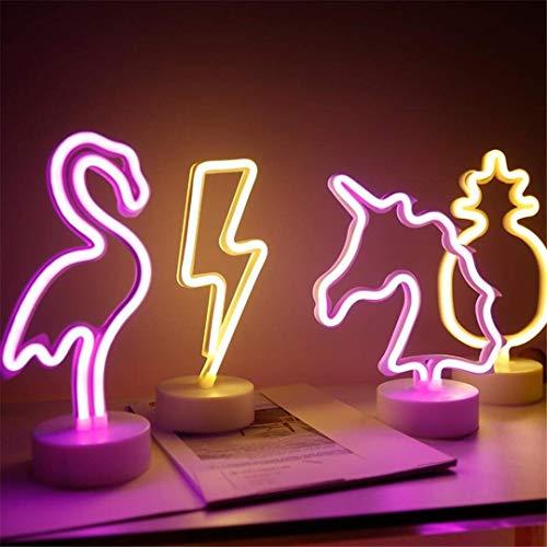 Ceiling Light-A Nachtlicht Führte Neonmädchen-Raum-Plan-Mädchen-Herz-Schlafzimmer ins Dekorative Helle Lampe Einhorn-Nachtlicht -