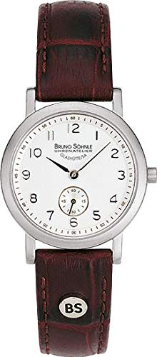 Bruno Söhnle Damen Analog Quarz Uhr mit Leder Armband 17-13035-221