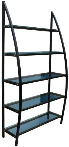 Figaro Étagère Noir 100 x 183 x 35 cm noir