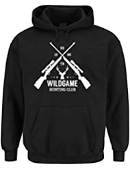 Hunting Club Hooded Sweater Negro Certified Freak