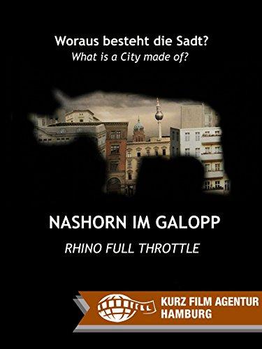Nashorn im Galopp [Rhino Full Throttle]