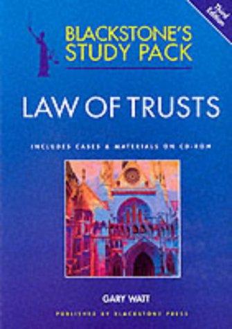 Law of Trusts (Blackstone's Study Packs)