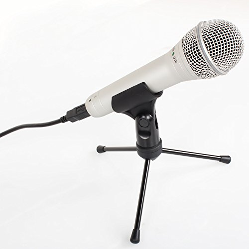 fon inkl. Kabel + Ständer (Usb-kabel Für Samson Mikrofon)