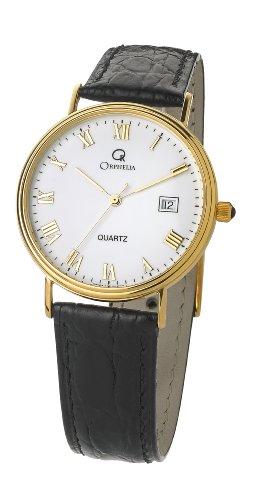 Orphelia Homme Analogique Quartz Montre avec Bracelet en Cuir MON-7081