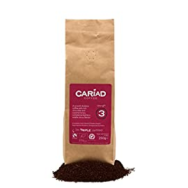♥♥ Organic Fairtrade  Ground Coffee By Cariad Coffee