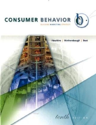 Consumer Behavior: WITH DDB Needham Data Disk: Building Marketing Strategy by Delbert I. Hawkins (2008-01-14)