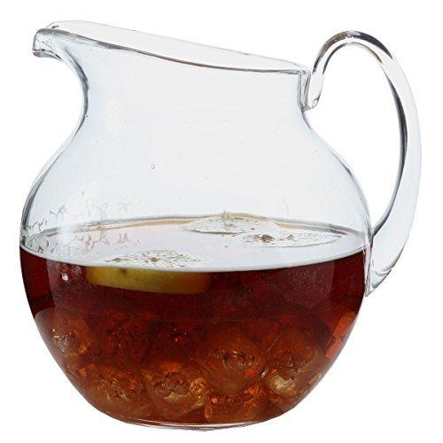 lilyshome bruchsicherer Kunststoff Indoor Outdoor Krug groß Kapazität 110Unze Glas Serveware