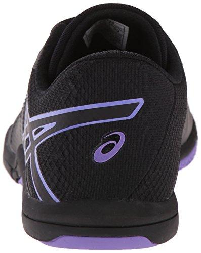 Asics Met-Conviction Synthétique Chaussure de Course Black-Black-Iris