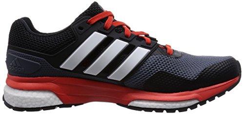 Adidas Response Boost 2m-Chaussures pour homme Gris/blanc/orange