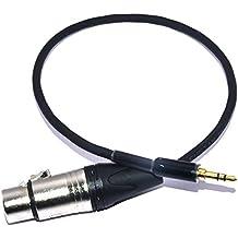 M. A. Enterprises 3.5mm Stereo Plug EP to XLR Female Cable for DSLR/ Microphone/ Camera/Shotgun Condensor